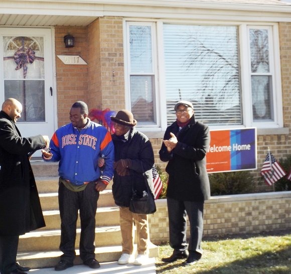 A Chicago military service man was the recipient of a mortgage-free home courtesy of Military Warriors Foundation in partnership with ...