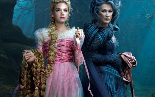 Into the Woods (PG for action, peril, suggestive material and mature themes) Disney family fantasy interweaving the plotlines of several ...