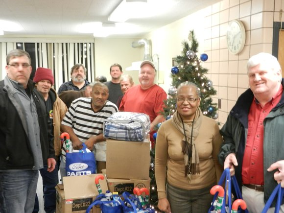Knights of Columbus Holy Trinity Council 4400 donated gifts to the residents of Catholic Charities Permanent Supportive Housing program at ...