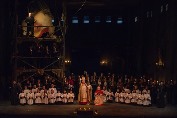 Puccini's beloved Tosca was part of Lyric Opera's opening (1954) season and has been produced 17 times since. Director John ...