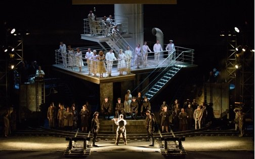 Miecyzslaw Weinberg's Holocaust opera, The Passenger, which Lyric gave its first Chicago performance Tuesday night,was a mesmerizing event, one of ...