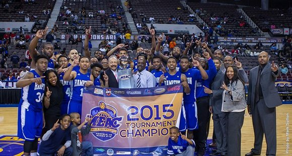 Hampton (16-17), the No. 6 seed, earned the conference's automatic bid to the NCAA Tournament; the Pirates will learn their ...