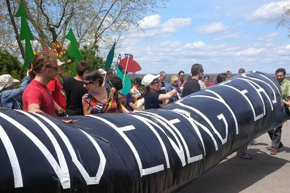 Dear EarthTalk: The proposed KeystoneXL oil pipeline from Canada into the U.S. seems to get all the headlines, but shouldn't ...