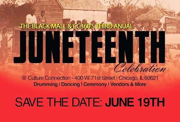 "The Black Mall and Cultural Connection 360 are celebrating the 150th anniversary of African Americans' ""Independence Day"" otherwise known as ..."