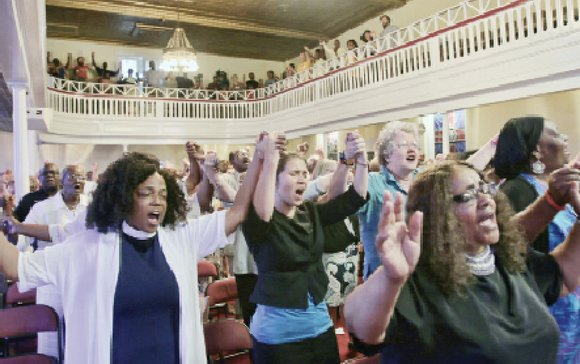 More than 200 people from Richmond and beyond packed the sanctuary floor and balcony last Friday evening at Third Street ...