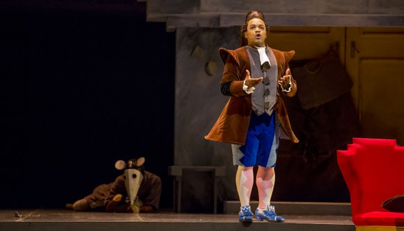 Last season's Barber of Seville was a confection of brightness and color in both look (oranges and yellows, plants and ...