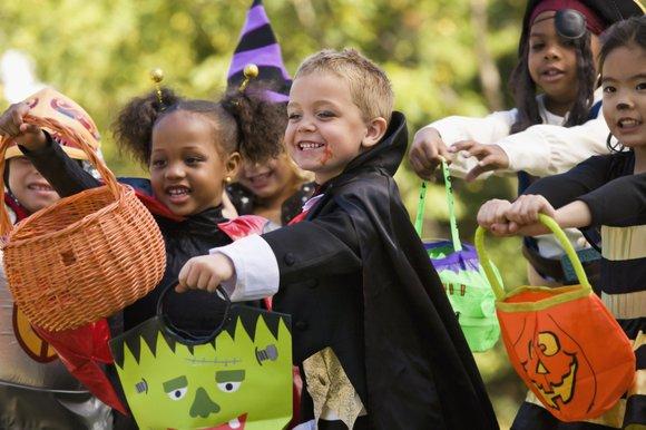 If the little ghouls or goblins in your house plan to go door-to-door in your neighborhood to trick or treat ...