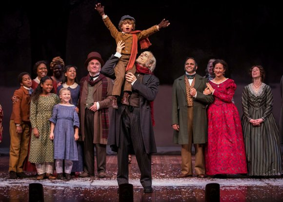 """Goodman Theatre's """"A Christmas Carol"""" is making its 38th production appearance, but you wouldn't know it from the heart-tugging performances ..."""