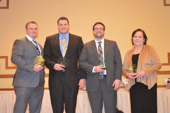 Four Joliet Township High School teachers received the Joliet Region Chamber of Commerce and Industry's Joliet Area Great Teachers Award ...