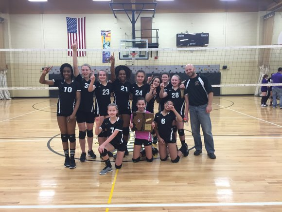 Brooks Middle School knocked off Rockford Marshall Monday night in a sectional final to advance to the IESA 7th grade ...