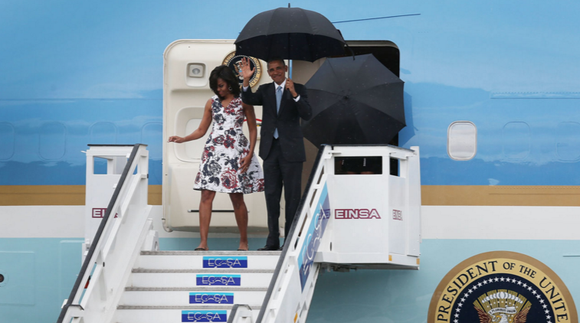 President Barack Obama is setting a high bar for the next --man or woman who sits in the Oval Office. ...