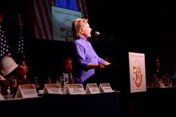 """thetimesweekly.com Gun violence, income-inequality, crumbling schools, """"We need world changing women more than ever,"""" Secretary Hillary Clinton, the presumptive Democratic ..."""