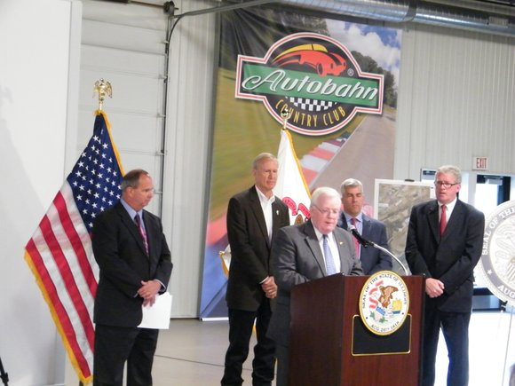 State and county officials announced this week a plan to build a new Houbolt Road bridge linking Interstate 80 and ...