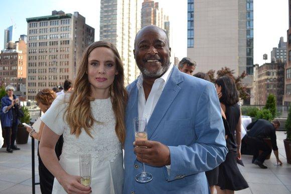 Vitalie Taittiinger, Artistic Director of Champagne Taittinger arrived in a stunning designer summer party dress to preside over the grand ...