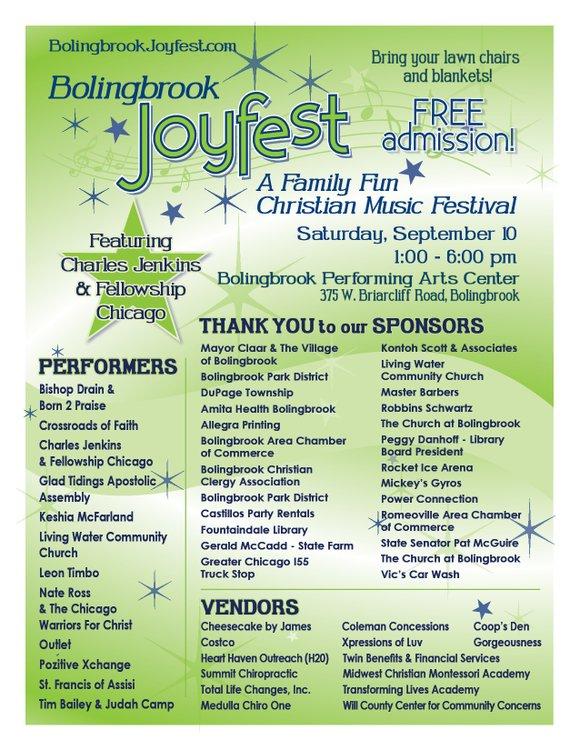 A Family Fun Christian Music Festival