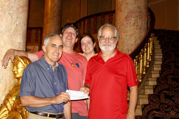 Joliet, IL - KSKJ Life St. Joseph Lodge 2 president Gregg Vershay recently presented a check for $2300 to the ...