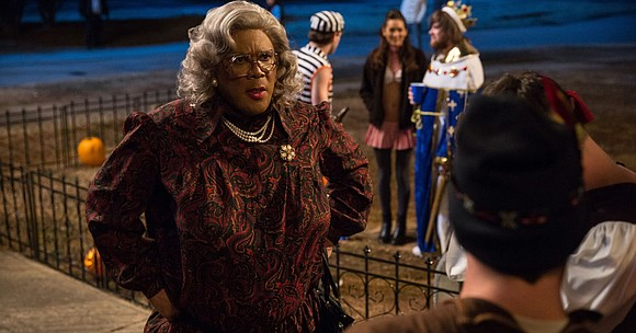 BIG BUDGET FILMS Boo! A Madea Halloween (PG-13 for drug use, suggestive content, profanity, scary images and mature themes) Tyler ...
