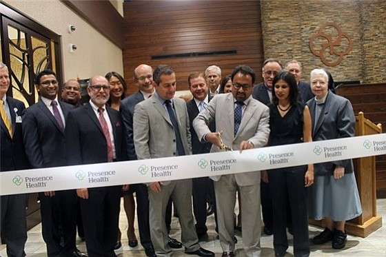 Presence Senior Health Pavilion and Family Immediate Care Center and Blain's Farm & Fleet held their official ribbon cutting ceremonies ...
