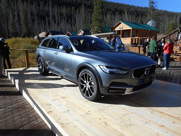 The program was billed as Volvo's Drive-E Experience. It was a sort of out with the old in with the ...