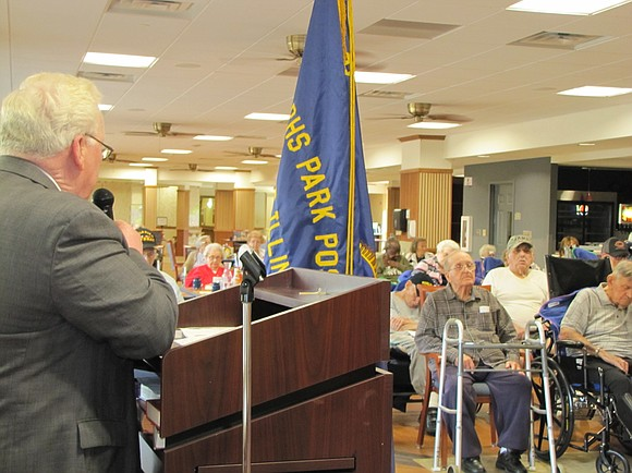 JOLIET – Fourteen veterans whose service spans World War II and the Korean and Vietnam wars were honored at Sunny ...