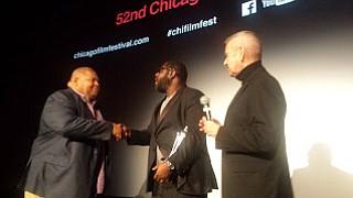 CHICAGO--Academy Award-winning British director Steve McQueen (12 Years A Slave) received the Chicago International Film Festival's Lifetime Achievement Award, marking ...