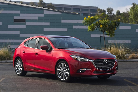 We got into the 2017 Mazda3, put our foot on the brake pedal and turned the ignition key and nothing ...