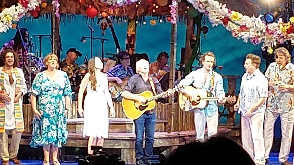Broadway In Chicago's Escape to Margaritaville, at the Oriental Theatre now through Dec. 2, is exactly as the title implies, ...