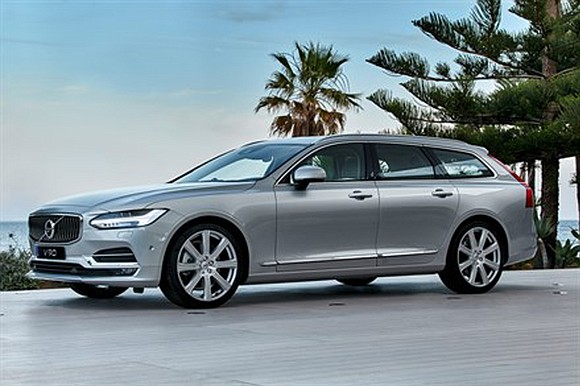 Volvo has a 60-year history of producing great full-size station wagons and the 2018 V90 TS AWD Inscription continues to ...