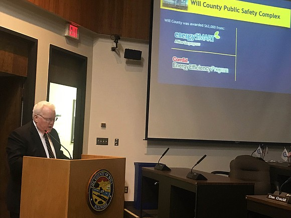 Joliet - Joliet's business future is bright according to Will County Executive Larry Walsh, Sr. in his State of the ...