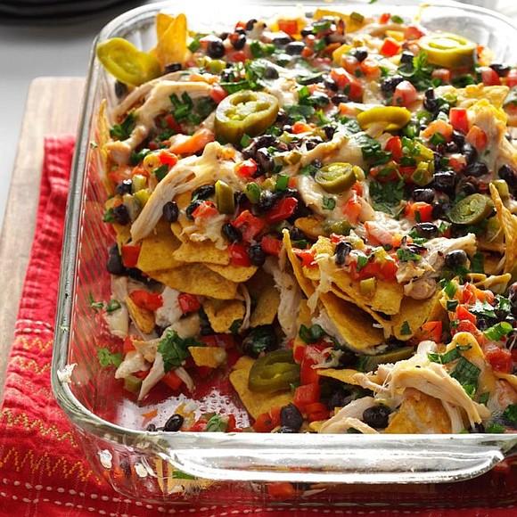 Servings: 16 / Total Time: 25 min Ingredients • 2 medium sweet red peppers, diced • 1 medium green pepper, ...