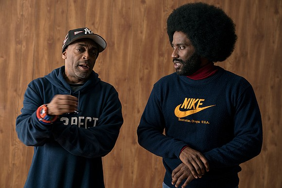 """Even though """"BlacKkKlansman"""" is set in the 1970s, the themes in the film are just as relevant today as they ..."""