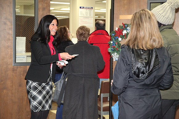 Petition filing continues through 5 p.m. Monday, Dec 17 Joliet - Will County Clerk Lauren Staley Ferry welcomed 40 local ...
