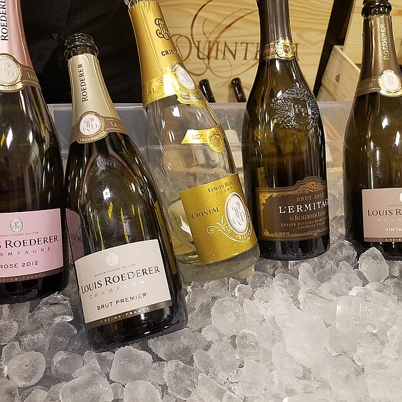 Binny's Beverage Depot was the scene of one of the Chicago area's most opulent Champagne gala. Champagne producers, from France's ...