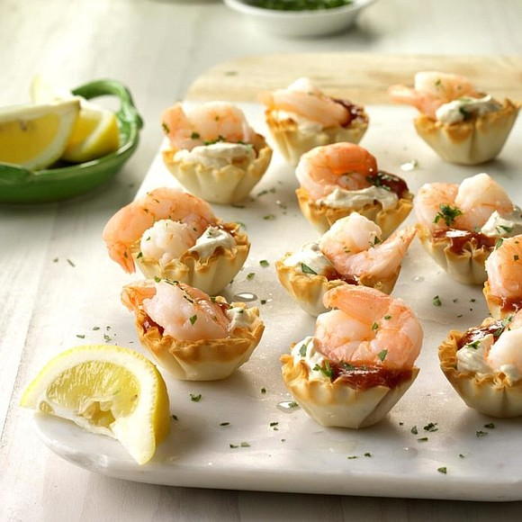 Serving: 2-1/2 dozen / Total Time: 20 mins Ingredients • 1 package (8 ounces) cream cheese, softened • 1-1/2 teaspoons ...
