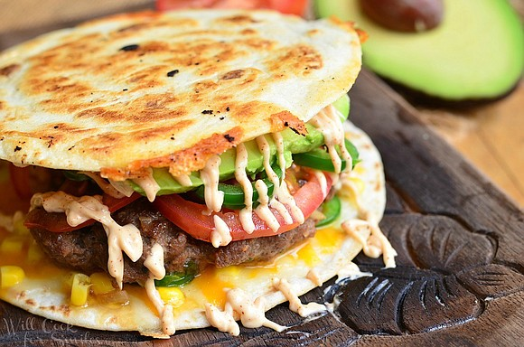Servings: 2 burgers / Total Time: 30 mins Ingredients • Burger: • 1 lb ground beef • 1/4 medium yellow ...