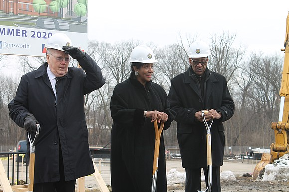 Joliet – The Will County Board broke ground on a new 60,000 square foot building for the Will County Health ...