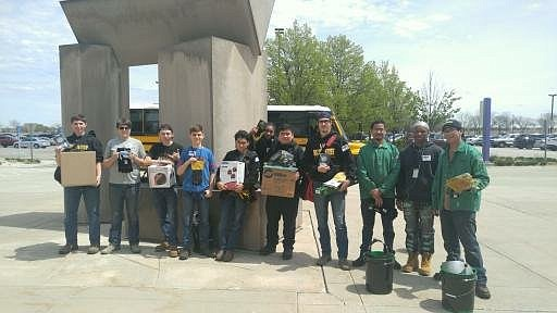 Joliet West High School STEM Academy students took home top ranks, including first place overall, at the High School Welding ...