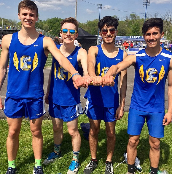Six Joliet Central High School Track Team members qualified to advance to the IHSA Track & Field State Final Meet ...