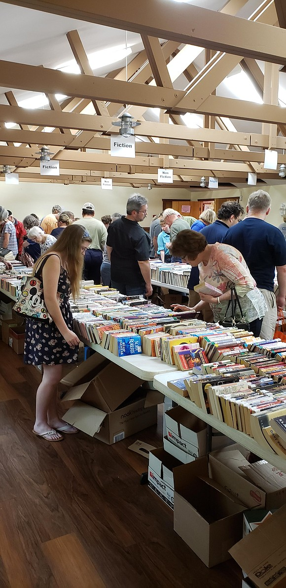 An estimated 58,000 books changed hands during the Will County reuse-recycling event at Pilcher Park Nature Center May 31-June 2. ...