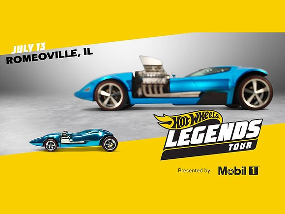 Is your car the next Hot Wheels? The Hot Wheels Legends Tour will be pulling into Romeoville on Saturday, July ...