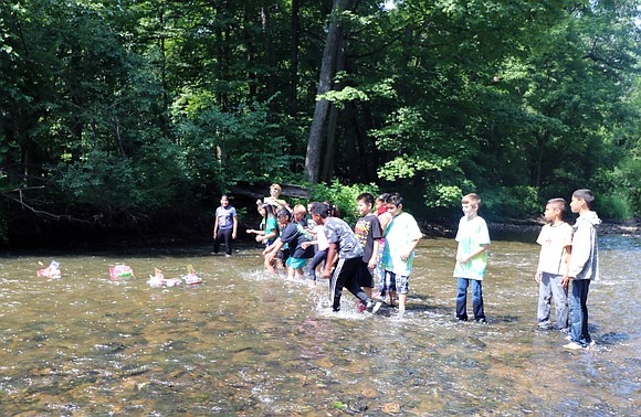 Over 40 Joliet Public Schools District 86 elementary students participated in the Kids 'n Nature program at Pilcher Park this ...