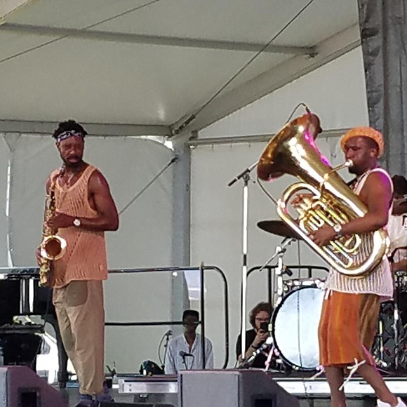 A mixed bag of jazz greats, generations and genres made the 65th edition of the Newport Jazz Festival one of ...
