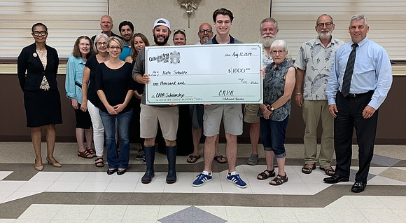 The Cathedral Area Preservation Association awarded recent Class of 2019 high school graduates, Nathaniel Schultz and John Ragusa, $1,000 scholarships ...