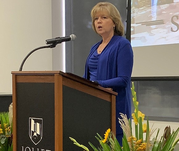 Joliet Junior College President Dr. Judy Mitchell presented her fourth annual State of the College address on Tuesday, Sept. 17. ...