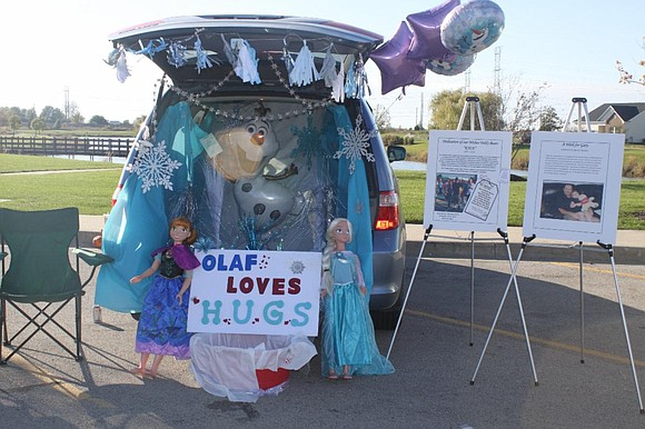 Decorate a vehicle or a tent, and hand out candy to about 1,200 of your local community members! This event ...