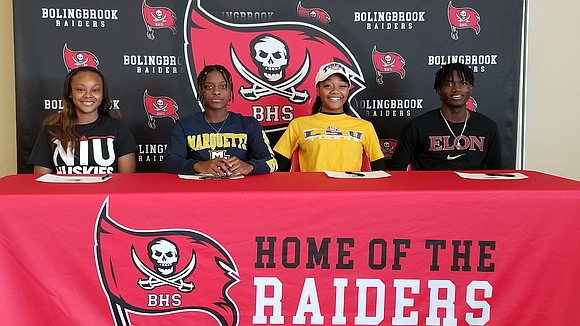 Four Bolingbrook HS student-athletes will continue their academic and athletic careers after signing National Letters of Intent on Nov. 12. ...