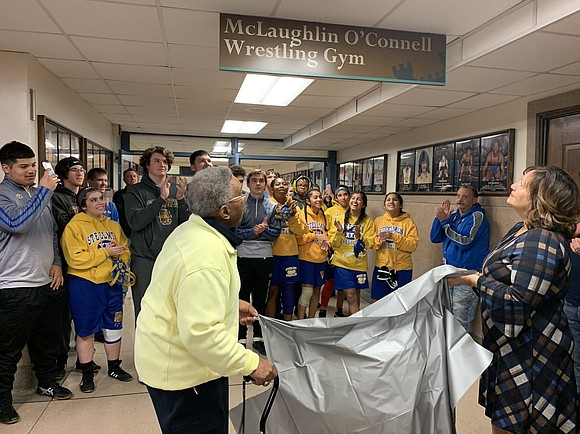 On November 22, 2019 the Joliet Central High School Wresting Room was dedicated to Eural (Mac) McLaughlin and Pat O'Connell. ...