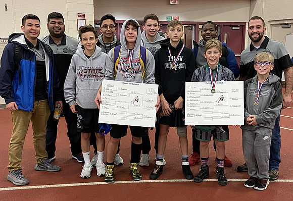 The Troy Trojan Wrestling Team placed 2nd at two recent competitions - the December 21 Homer Invite held at Lockport ...