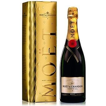 Radiant and spontaneous, Moet and Chandon Rose Imperial ($61.99) is the Champagne that says Romance.