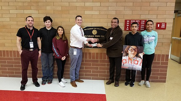 For the ninth year in a row, Mr. Mohammed Qurashi has donated $500 to math and science programs in Valley ...